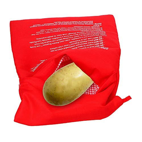 Bolsa de patatas para microondas, lavable, reutilizable, para ...