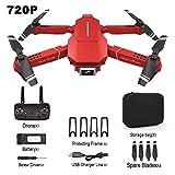 LUNAH RC Drone, E98 Toy con cámara HD 4K 1080P 720P RC Drone Quadcopter Plegable One Key Return...