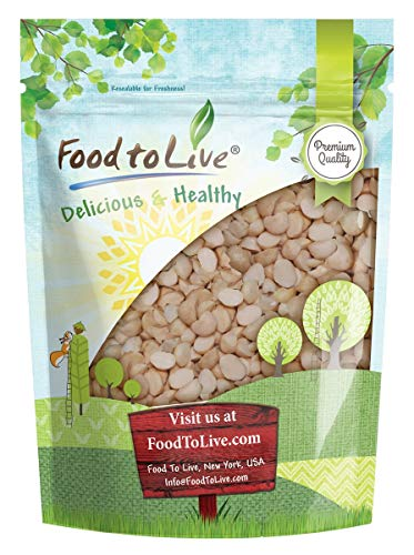 Macadamia Nut Pieces, 2 Pounds - Raw, Chopped, Unsalted, Unroasted, Kosher, Vegan, Bulk, Great for Baking