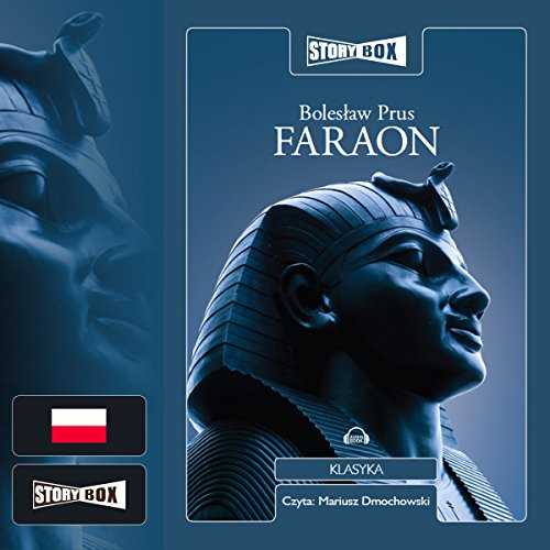 Faraon audiobook cover art