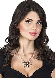 Boland Halloween Black Widow Spider Necklace