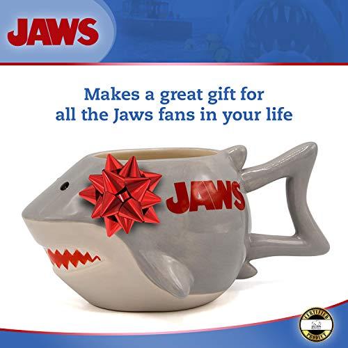 Hai Tasse aus Keramik in Grau
