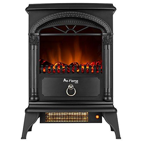 e-Flame USA Hamilton Freestanding Electric...