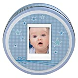Fujifilm Instax Mini Photodose mit Modeliermasse für Fuß/Handabdruck für Babys blau