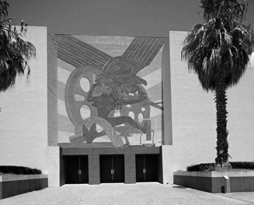18 x 24 Black & White Canvas Wrap of Art Deco Relief one of Many at Fair Park site of The 1936 Texas Centennial Celebration and The Pan-American Exposition in 1937 in Dallas Texas y55 2014 Highsmith