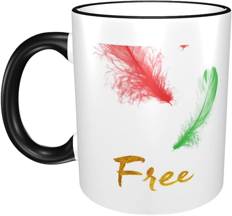 Flamingo 11oz Large Coffee Mail order cheap Mugs Ceramics Minneapolis Mall Exqui Print Cup Fashion