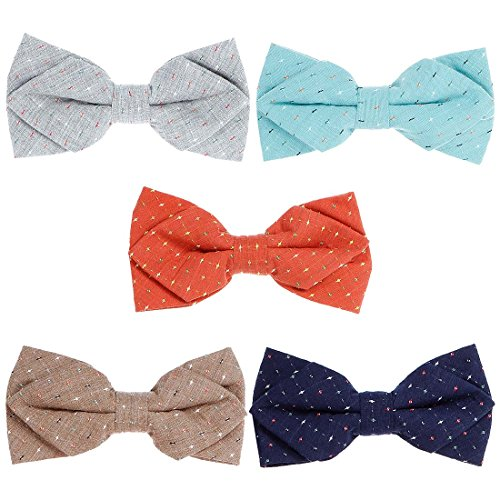 Bowties make great cotton 2nd anniversary gifts for him