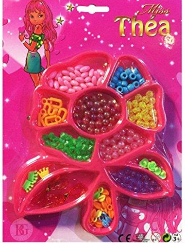 Bijoux perles 12 compartiments