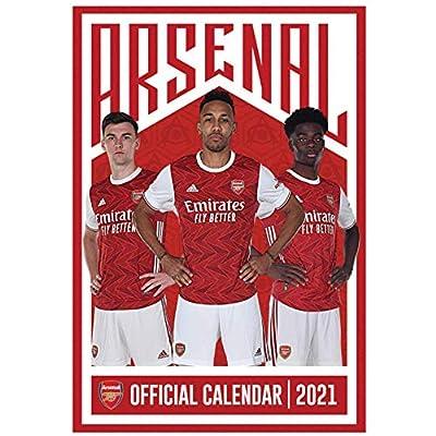 Gunners Official Arsenal FC (Premier League) Football Player 2021 Calendar (A3)