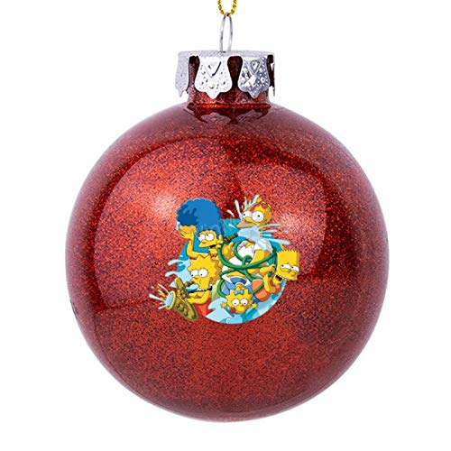 Christmas Balls Ornaments With Pictures Simpsons Xmas Tree Hanging Decoration Wishes For Better 2020