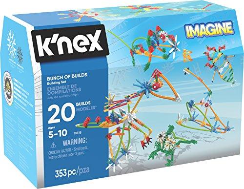 K 'nex 34698Bunch of Builds Building Set–353Stücke Incluye–para niños a Partir de 3años–Diseño y de construcción de Juguete