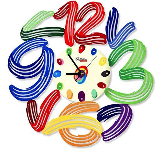 David Gerstein Art Time Clock Dekorative Wanduhren Laser Sublimationsdruck