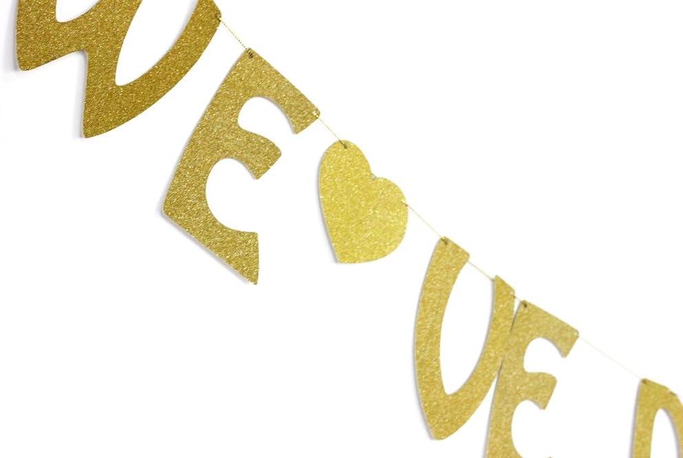SUNBEAUTY Bachelorette Girlande Hen-Party Banner JGA Dekoration