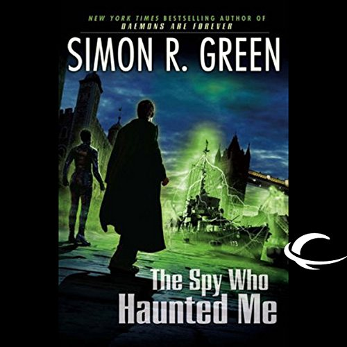 The Spy Who Haunted Me cover art