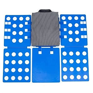 Magic Adjustable Clothes and Shirts Folder Board (Blue)