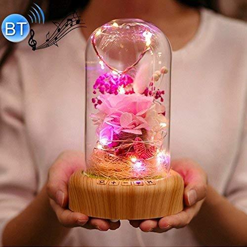 Calentar bluetooth luz de la lámpara decoración del hogar Fantasía streamer botella...