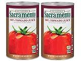 Sacramento Tomato Juice 46 fl oz (2 Pack)