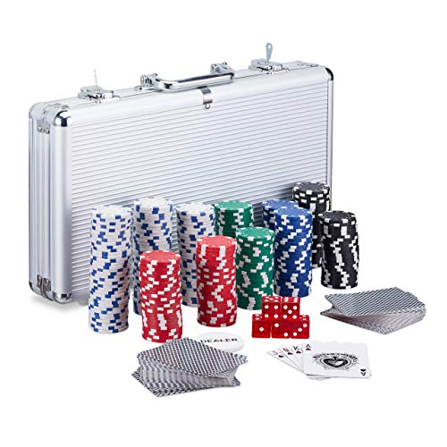 Relaxdays Pokerkoffer Bild