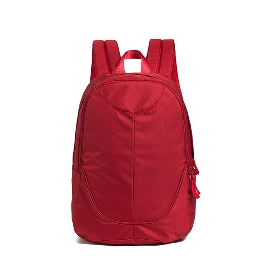 表現最後の囚人ラップトップバックパック、軽量バックパックデザイン、防水および耐久性のあるキャンバス素材、オフィスワーカーに最適(31 * 23 * 46 cm / 12.4 * 9.2 * 18.4インチ、ブラック/ブルー/レッド) (Color : Red)