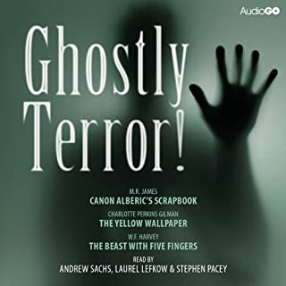 Ghostly Terror! copertina