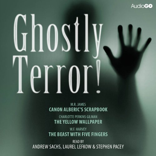 Ghostly Terror! audiobook cover art