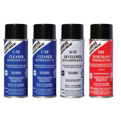 Dynaflux 368-DF315-KIT-S Visible Red Dye Penetrant Test Kit - Standard Grade