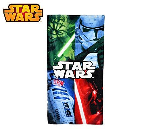 Lucasfilm SW14057 Telo Mare Star Wars 70x140 cm 100% Cotone Asciugamano. MWS