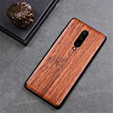 XIWAN Oneplus 7 pro Case Boogic Original Real Wood funda Oneplus 7 Rosewood TPU Shockproof Back Cover Phone Shell One Plus 7 Pro case (Color : I, Size : for Oneplus 7 Pro)