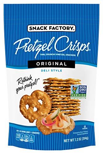 Snack Factory Pretzel Crisps, Original Flavor, 7.2 Oz Bag