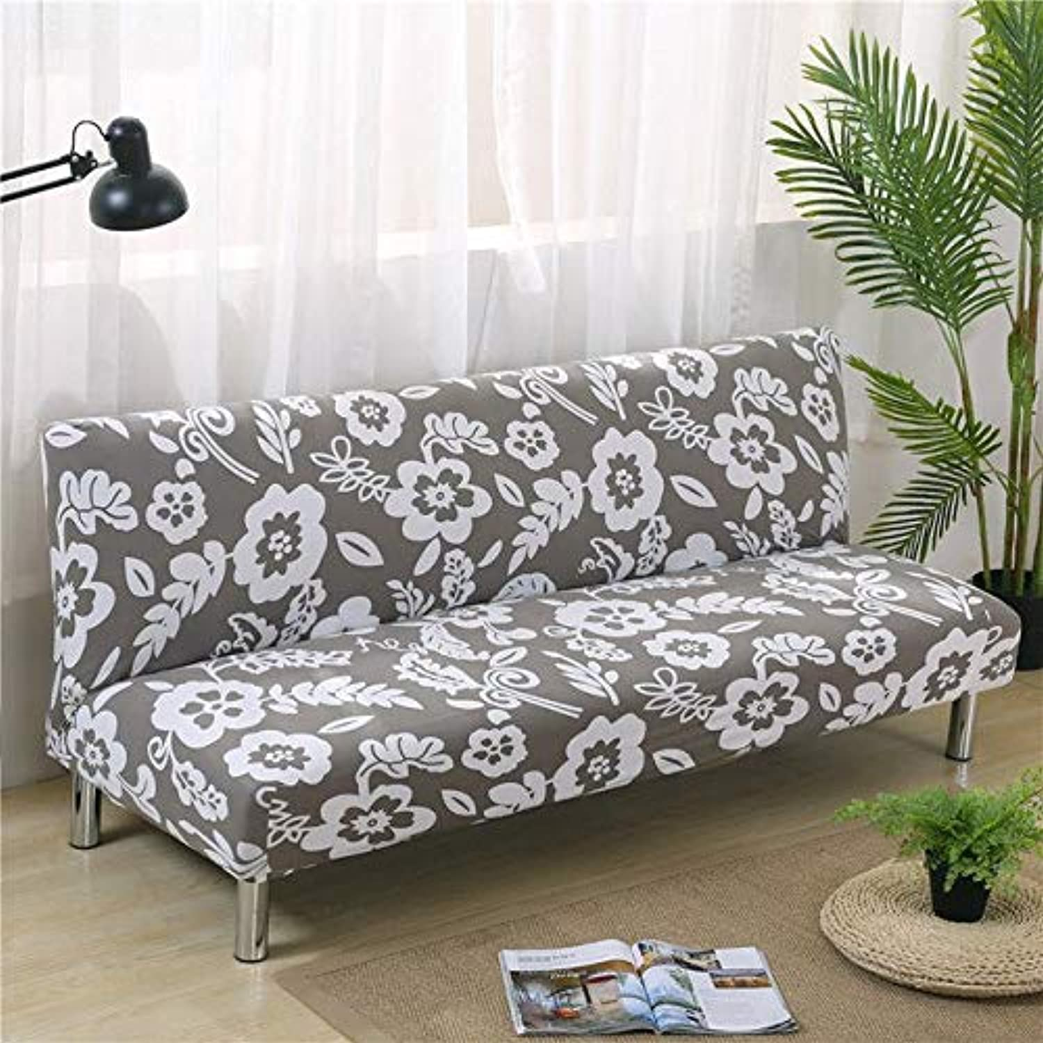 Elastic Sofa Bed Covers for Living Room Sofa Towel Slip-Resistant Sofa Bed Cover Cotton Strech Slipcover   colour11, 160cm to 200cm
