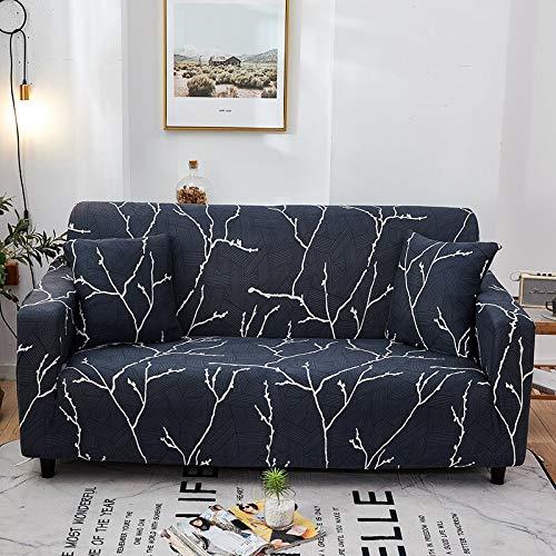 Fundas de sofá elásticas universales para Sala de Estar, Toalla de sofá, Funda de sofá Antideslizante, Funda de sofá elástica A1, 4 plazas