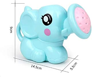 LGXJP Baby Elephant Bath Toys Can Be Sprayed For Boys And Girls, Bright Colors Baby toys ( Color : Blue )
