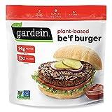 Gardein Ultimate Plant-Based Beefless Burger Frozen Patties, Vegan, Frozen, 12 oz. 4-Count