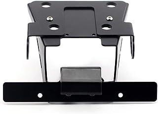 soporte de placa de matr/ícula Guardabarros ordenado trasero eliminar con luz LED Soporte de placa de matr/ícula de motocicleta Marco de placa de matr/ícula Soporte de placa de matr/ícula de motocicleta