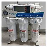 Agua destilada 600 GPD Nivel 5 Filtrado RO Sistema de ósmosis inversa Sistema de filtro Sistema de filtro de acuario Sistema de filtro de acuario Purificador de agua automática inteligente para el fre