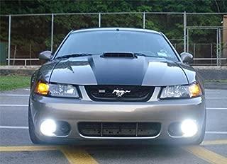 Halo Angel Eye Fog Lights Kit for 1999-2004 Ford Mustang GT SVT Cobra Bumper