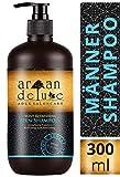 Argan Deluxe Herren Shampoo in Friseur-Qualität 300 ml - Starkes Pflegeshampoo mit Minze für...