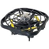 Qinmo Capteur Infrarouge Jouet lumières LED Lévitation Drones Volant Boule Drone Mini Induction Avions UFO Volant Boule Jouet Automatique par gravité Sens ( Color : Black )