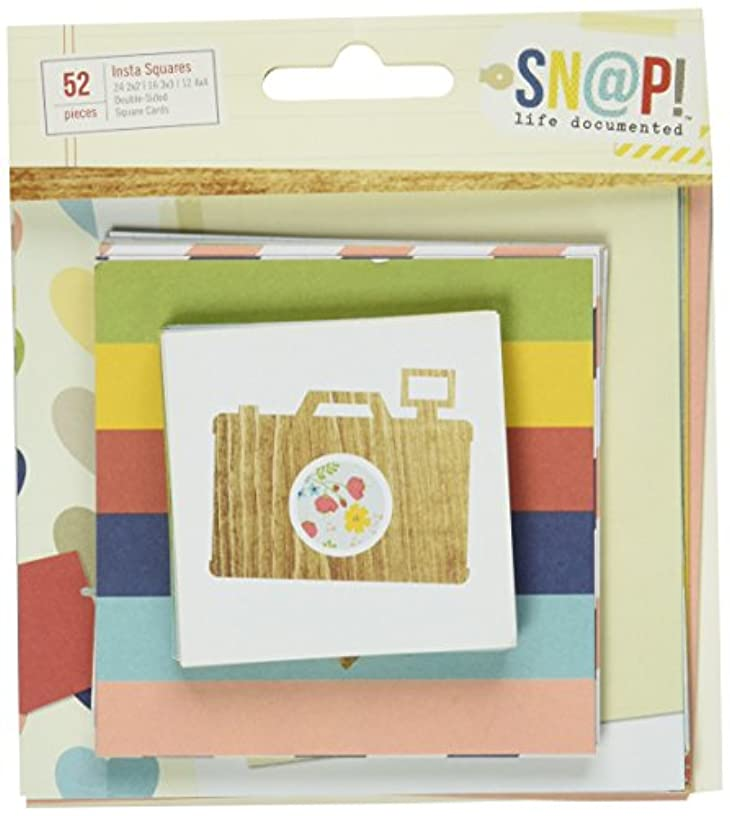 Simple Stories Snap Life Documented Insta Squares (52 Pack)