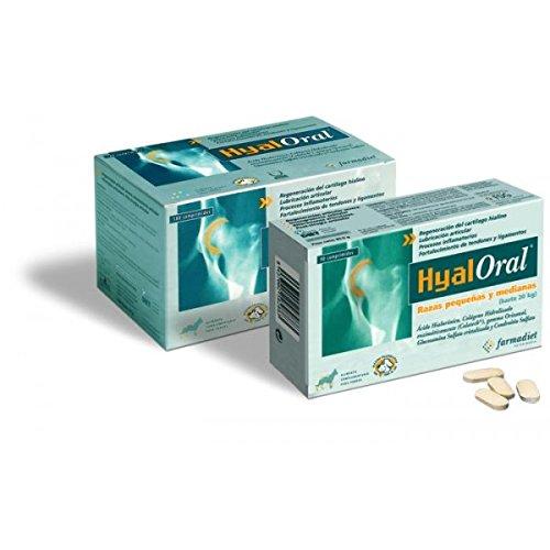 Farmadiet - Hyaloral Razas Pequeñas Y Medianas180 Comprimidos ⭐