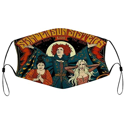 Mouth Cover Hocus Pocus Personalized Washable Reusable Face Scarf Mouth Guard Face Cover For Adult Kids