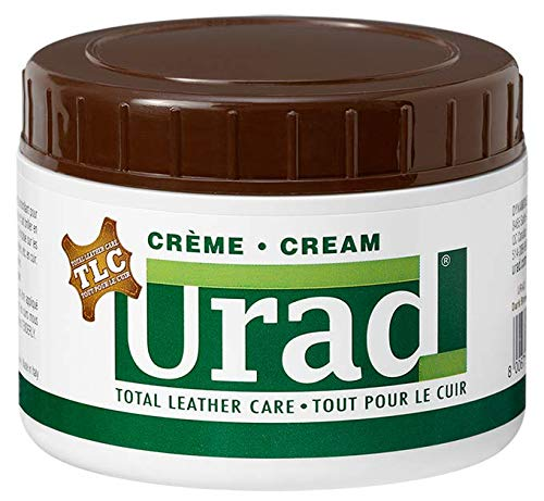 Urad. Leather Care and Leather Conditioner. Made in Italy Leather Cream, Moisturizer for Refurbishing and Restoring. (Dark Brown)