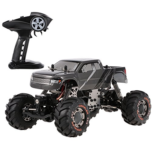 Goolsky HBX 2098B 1/24 2.4GHz 4WD 4WS Devastator Rock Crawler RTR with Double Servo Off-Road RC Car
