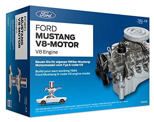 Franzis FMV019 Ford Mustang V8 Model Engine Kit