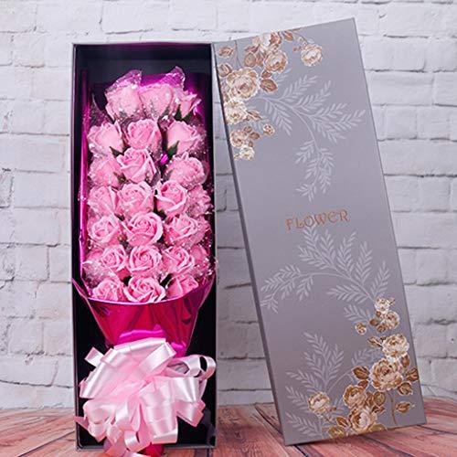 ELECTRI 33 Roses Parfumée Savon Fleur Coffret...