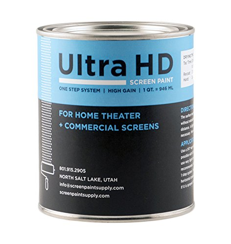 Ultra HD Premium Screen Paint (Quart)