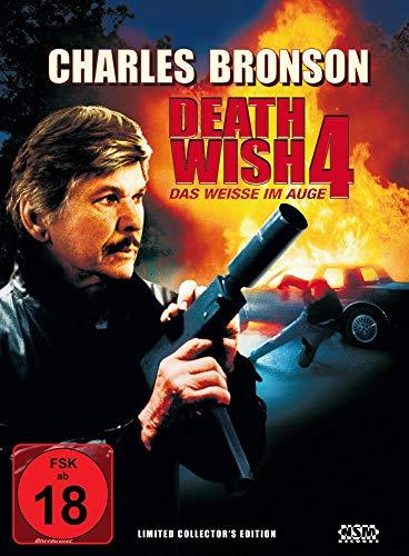 Death Wish 4 - Das weisse im Auge [Blu-Ray+DVD] - uncut - auf 888 limitiertes Mediabook Cover A