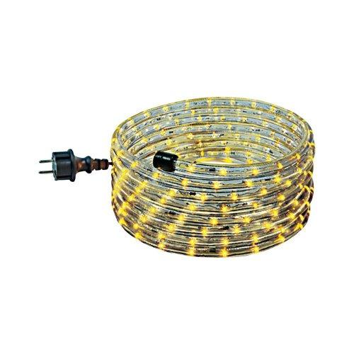 Lichtschlauch Set 6m gelb mit steckerfertiger Anschlussleitung
