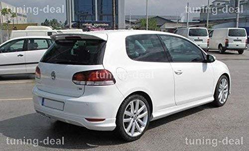 VW Volkswagen Golf 6 Heckansatz Heckschürze Spoiler R Line
