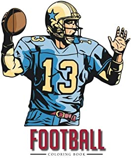 coloring pages nfl football